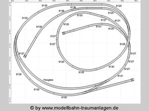 kleine n modellbahn 120x60 cm