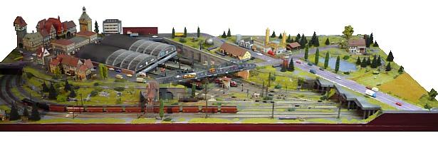 Modellbahn Bauen Landschaft Berge Tunnel See